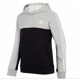 adidas Youth Pullover Fleece Hoodie